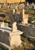 Oude begraafplaats. Royalty-vrije Stock Afbeelding