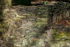 Oude behandelde muur van vorm Royalty-vrije Stock Fotografie