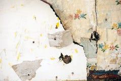 Oude Behanglagen Stock Foto