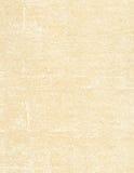 Oude beige document textuur Stock Afbeelding