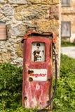Oude Benzinepomp Stock Afbeelding