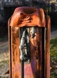 Oude benzinepompen Stock Foto's