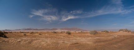 Oude bergen van Sinai woestijn Stock Afbeelding