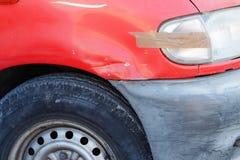 Oude beschadigde auto Royalty-vrije Stock Afbeelding