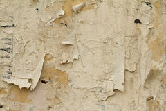 Oude beschadigde muur Royalty-vrije Stock Foto