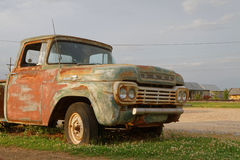 Oude bestelwagen in het platteland van de Mississippi Stock Fotografie