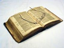 Oude Bible19 Stock Afbeeldingen