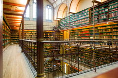 Oude bibliotheek Royalty-vrije Stock Afbeelding