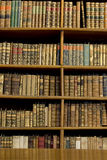 Oude bibliotheek stock afbeelding