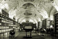 Oude bibliotheek Royalty-vrije Stock Foto