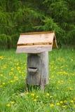 Oude bijenbijenkorf Royalty-vrije Stock Afbeeldingen