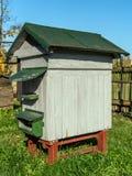 Oude bijenbijenkorf Royalty-vrije Stock Afbeelding