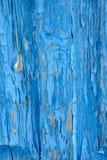 Oude blauwe geschilderde houten raad Royalty-vrije Stock Afbeelding