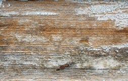 Oude blauwe geschilderde houten raad royalty-vrije stock fotografie