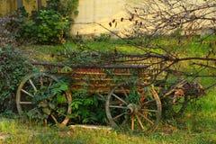 Oude Bleekgele Wagen stock foto