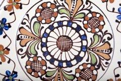 Oude bloemen ceramisch Royalty-vrije Stock Afbeeldingen