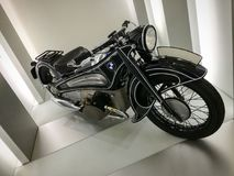 Oude BMW-motorfiets Royalty-vrije Stock Afbeeldingen