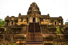 Oude boeddhistische Khmer tempel Stock Foto's