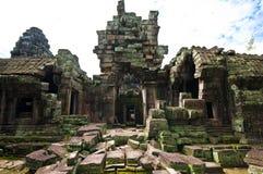 Oude boeddhistische Khmer tempel Royalty-vrije Stock Fotografie