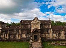 Oude boeddhistische Khmer tempel Stock Fotografie