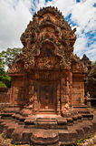 Oude boeddhistische Khmer tempel Royalty-vrije Stock Afbeelding