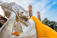 Oude Boeddhistische tempel Stock Afbeeldingen