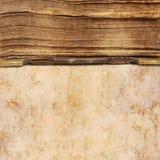 Oude boekachtergrond royalty-vrije stock fotografie