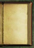 Oude boekachtergrond Stock Foto
