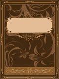Oude boekdekking Royalty-vrije Stock Foto