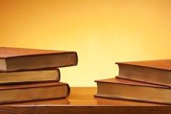 Oude boeken. Royalty-vrije Stock Foto