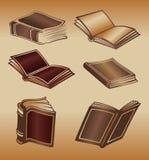 Oude boeken royalty-vrije illustratie