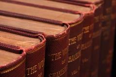 Oude Boeken Royalty-vrije Stock Afbeeldingen