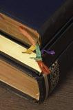 Oude boeken van de Bijbel royalty-vrije stock afbeelding
