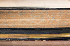 Oude boekpagina's backgound Royalty-vrije Stock Foto