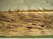 Oude boekrand Stock Foto's