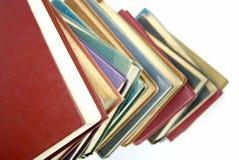 Oude boekstapel Stock Foto