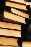 Oude boekstapel Stock Fotografie