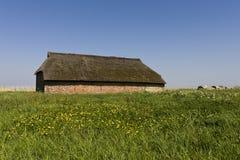 Oude boerderij, stary gospodarstwo rolne zdjęcia royalty free