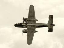 Oude bommenwerper royalty-vrije stock fotografie