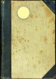 Oude bookesdekking. Royalty-vrije Stock Afbeeldingen