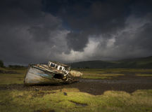 Oude boot Stock Afbeelding