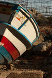 Oude boot Royalty-vrije Stock Fotografie