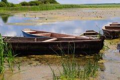 Oude boot Royalty-vrije Stock Afbeeldingen