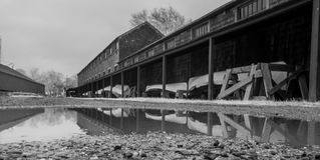 Oude boten stock foto's