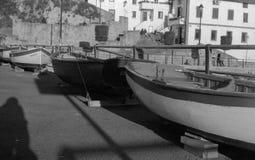 Oude boten Royalty-vrije Stock Fotografie