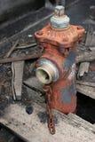 Oude brandkraan stock fotografie