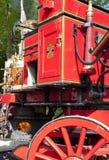 Oude brandmotor Stock Afbeelding