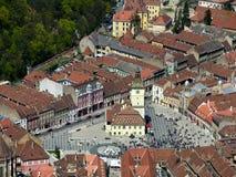 Oude Brasov in Roemenië Stock Foto