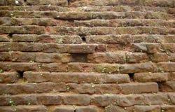 Oude brickwall stock foto