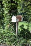Oude brievenbus Stock Fotografie